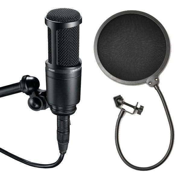 Audio-Technica AT2020 Popfilter Set - Audio-Technica AT2020 Popfilter Set