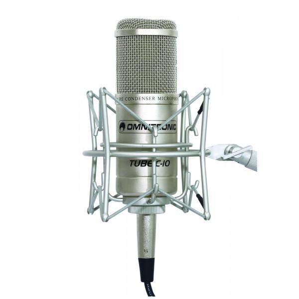 Microfon Studio Omnitronic Tube C-10