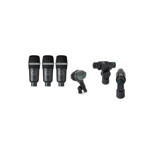 Microfoane Pentru Tobe AKG DRUM RHYTHM PACK
