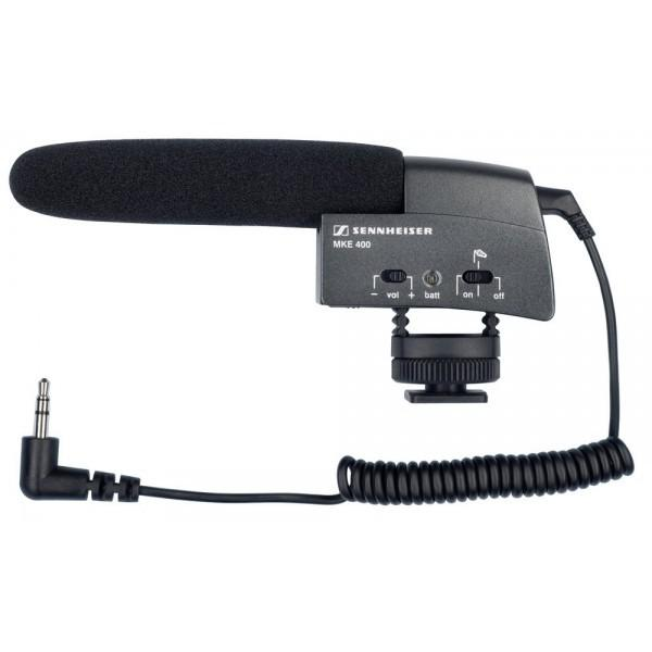 Sennheiser MKE 400 - Microfon Camera