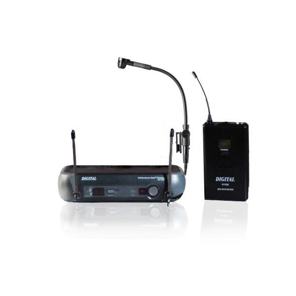 Digital W1008 + AKG C519 ML -UHF  Instrumental set 16 canale