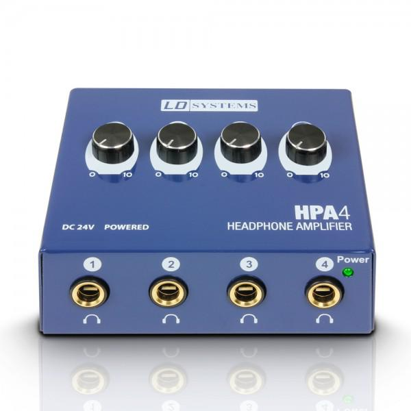 Amplificator Casti LD-Systems LD Systems HPA 4 - 4 Canale - Amplificator Casti LD-Systems LD Systems HPA 4 - 4 Canale