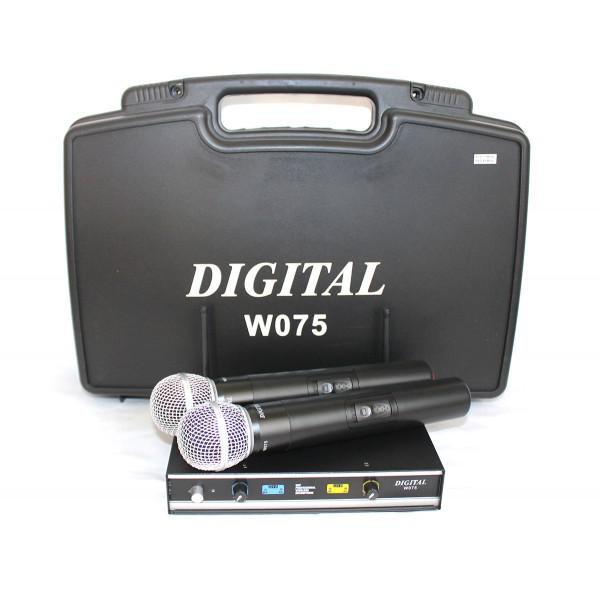 Digital W075 - Set microfoane wireless