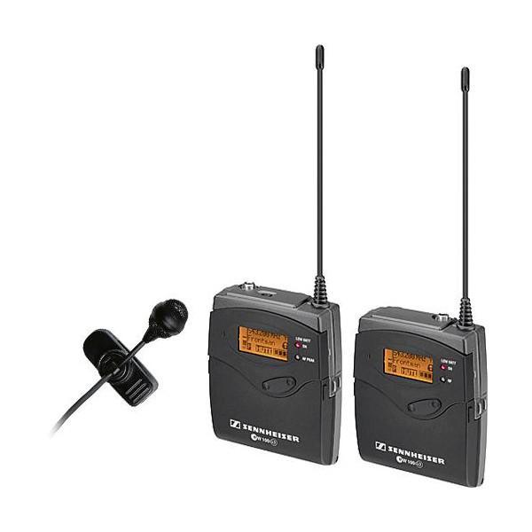 SENNHEISER EW 122-P G3 Camera Mount Wireless Kit cu ME4 Lavalier Mic