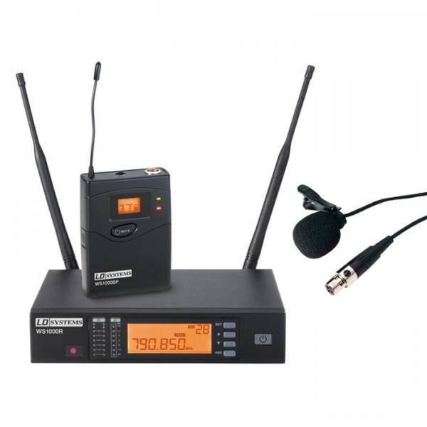 Microfon Lavaliera LD-Systems WS1000BPL