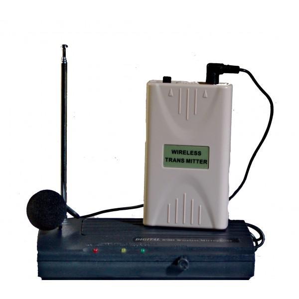 Microfon Wireless Digital W1002-lavaliera