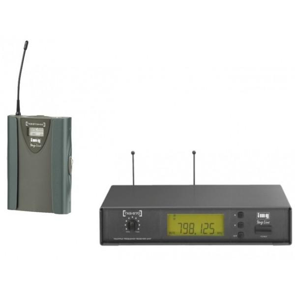 Stage Line Reciver TXS-870 + Lavaliera  TXS-870HSE