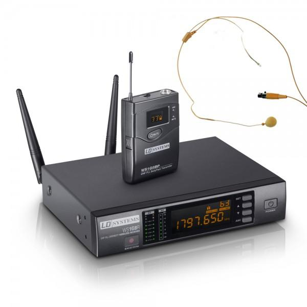 Microfon Wireless LD Systems WS 1 G8 BPHH HeadSet
