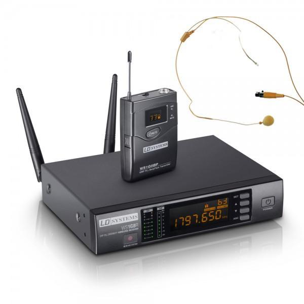 Microfon Wireless LD Systems WS 1 G8 BPHH HeadSet