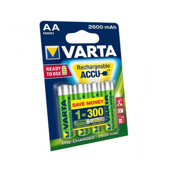 Acumulatori Varta AA 2600 mAh blister 4 buc