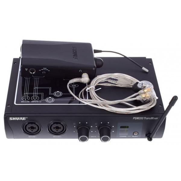 Shure PSM-200 - SE215 Set Q3