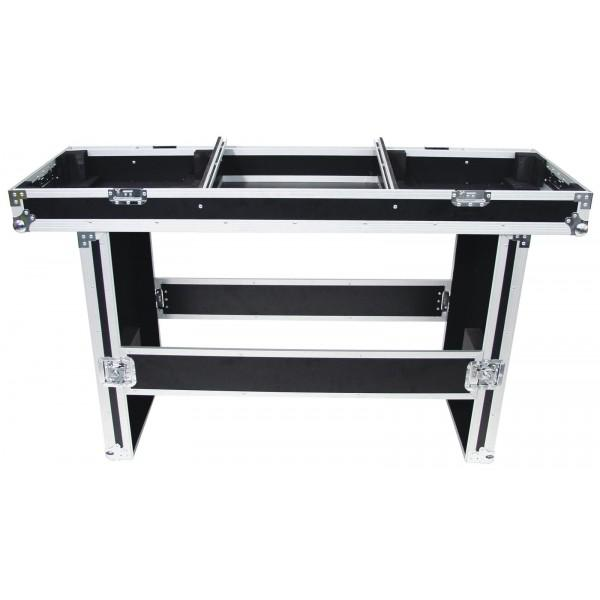 Roadinger Console Road table for 2 turntable