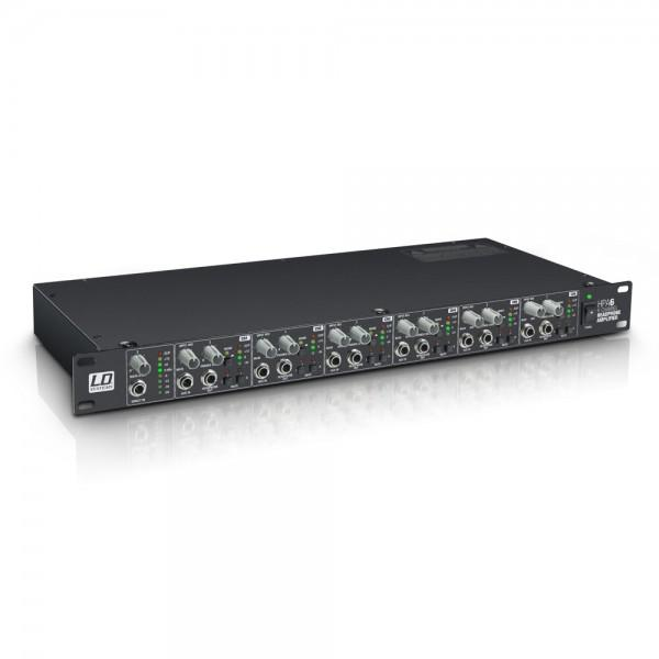 HPA 6 LD Systems   Amplificator distribuitor  casti