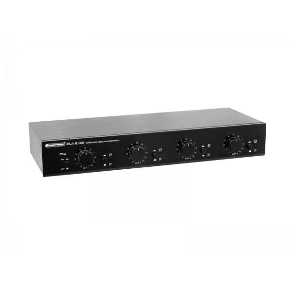 Distribuitor Volum 4 Canale OMNITRONIC ELA 2/4S-zone 100W