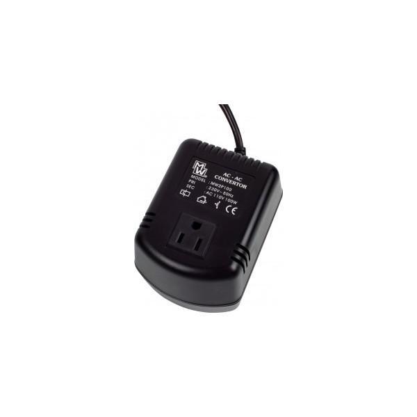 CONVERTOR 220-240VAC/100-120VAC 100W