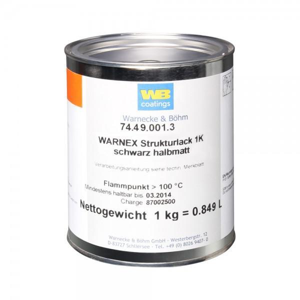Vopsea Boxe Warnex 0131 1KG NEGRU