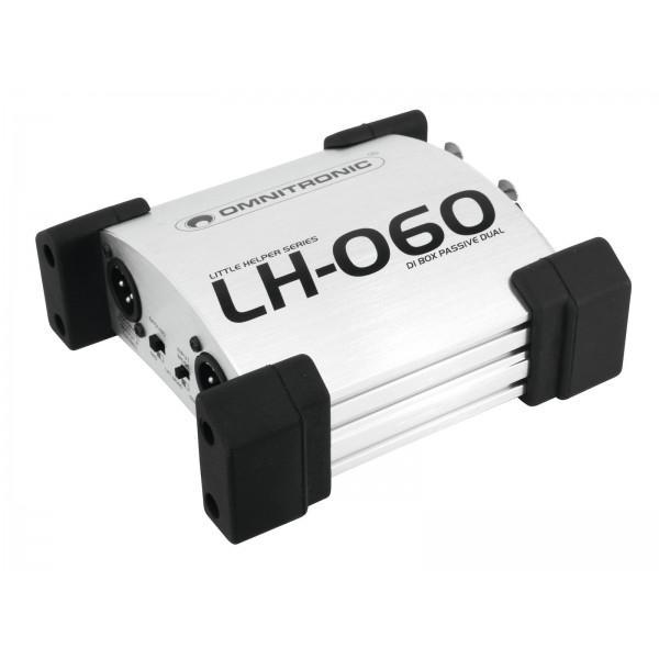 OMNITRONIC LH-060 PRO Passive dual DI-Box