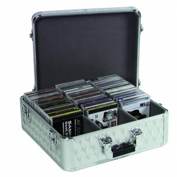 CD case ALU polished for 100 CDs - CD case ALU polished for 100 CDs