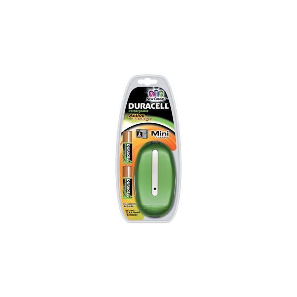 Incarcator Duracell + Acumulatori 2450 mAh - verde