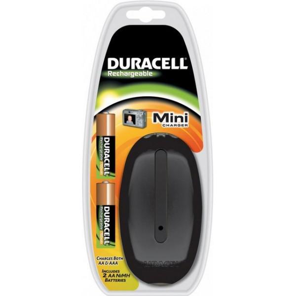 Incarcator Duracell + Acumulatori 2450 mAh - negru