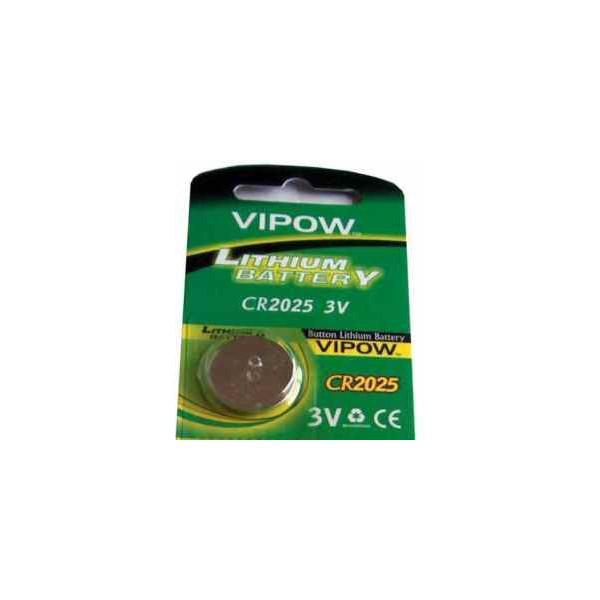 Baterii VIPOW CR2025 - pentru acordoare chitara