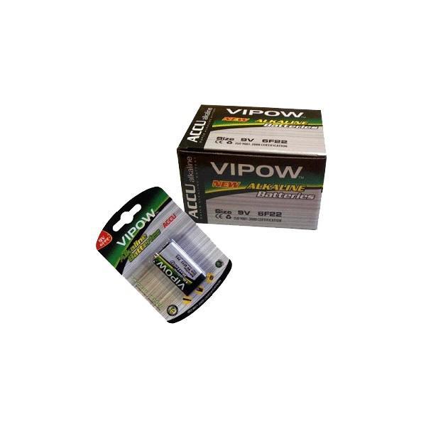 Acumulator 9V 200mAh Ni-Mh 6LR61 VIPOW
