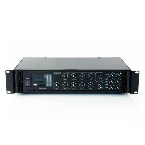 Amplificator 100V/60W MP3/Radio - 6 zone