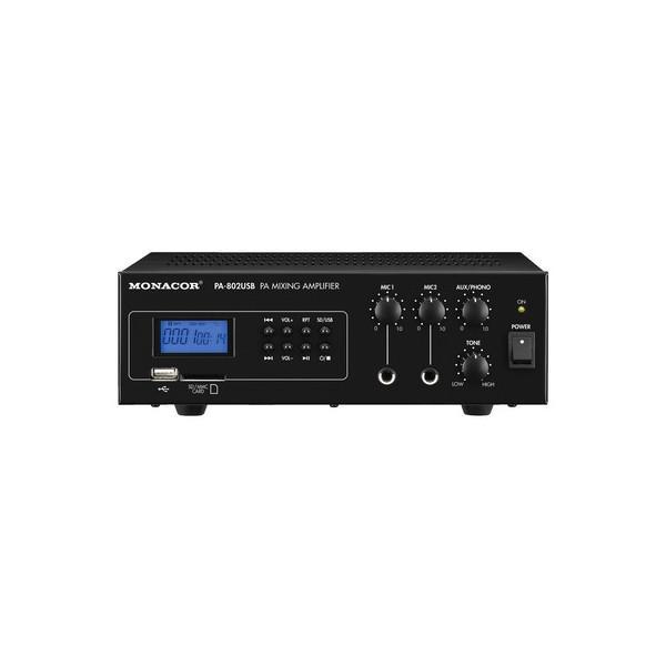 Monacor PA-802USB - Amplificator