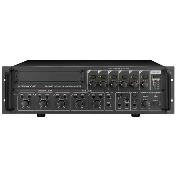 PA-6480 Amplificator Monacor 100V/480W