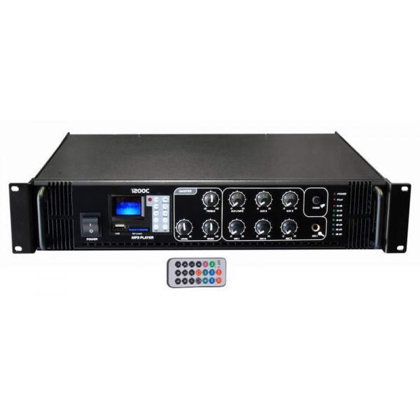 Amplificator 100V / 120W USB/SD