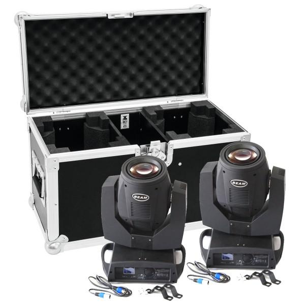 MovingHead Beam 7R + Case transport