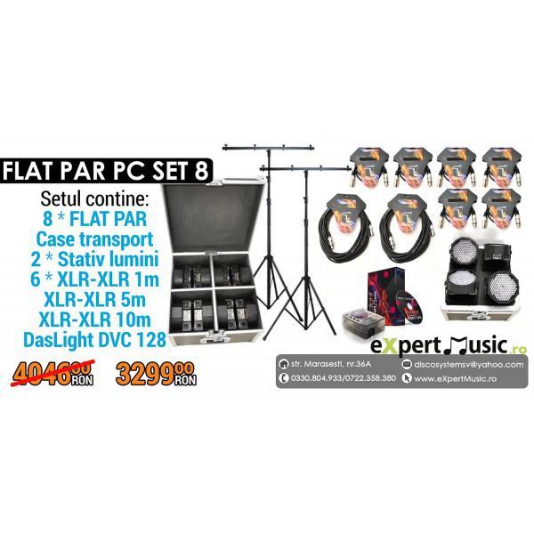 SET 8 FLAT PAR PC