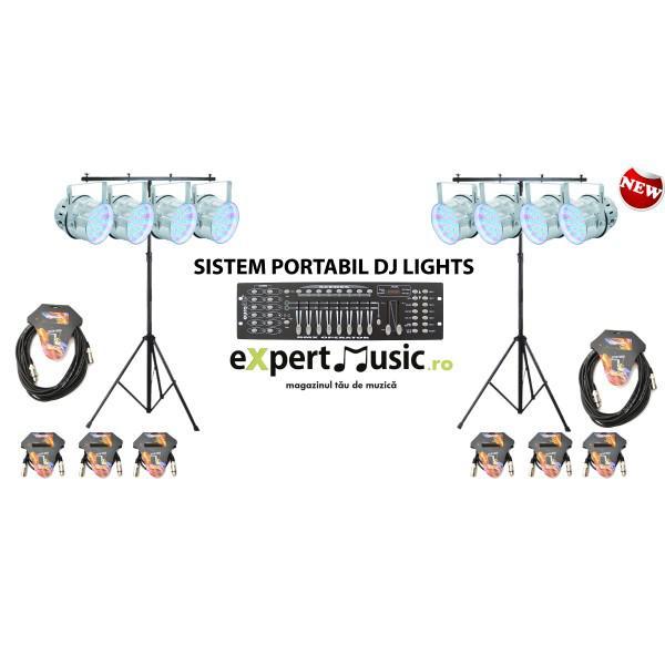 SISTEM PORTABIL DJ LIGHTS 1