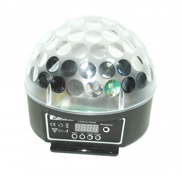 LED Crystal Ball RGBW - DMX