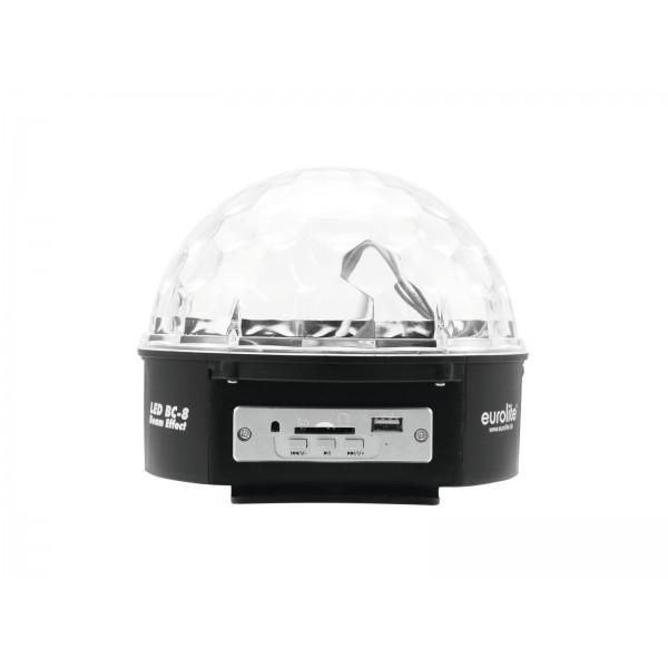 EUROLITE LED BC-8 Beam effect MP3 - EUROLITE LED BC-8 Beam effect MP3