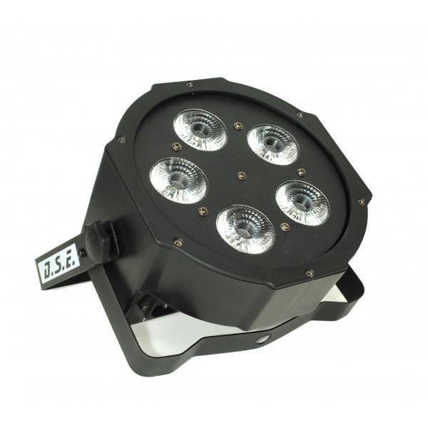 LED Flat Par 5x8W - RGBW