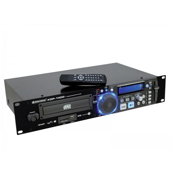 Omnitronic XDP-1400 CD/MP3 Player - Omnitronic XDP-1400 CD/MP3 Player