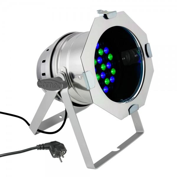 Cameo Led PAR 64 CAN - 36 x 3 W - Silver