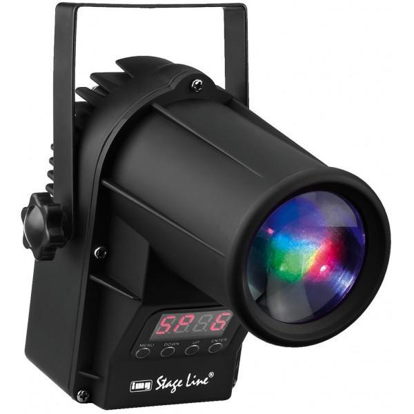 Spot LED RGB WHITE Stage Line LED-10SPOT