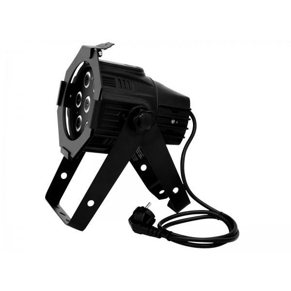 Eurolite LED ML-30 QCL 7x8W Negru