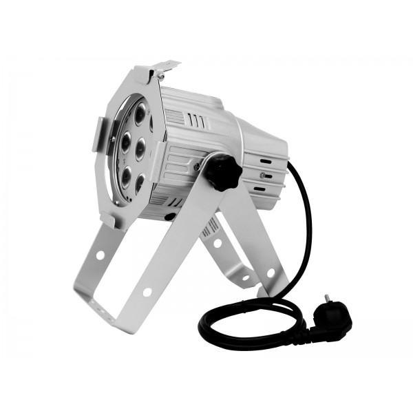 Eurolite LED ML-30 QCL 7x8W Argintiu