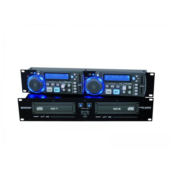 CD/MP3-Player OMNITRONIC XMP-2800MT - CD/MP3-Player OMNITRONIC XMP-2800MT