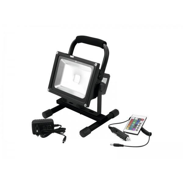EUROLITE ACCU LED IP FL-20 COB RGB