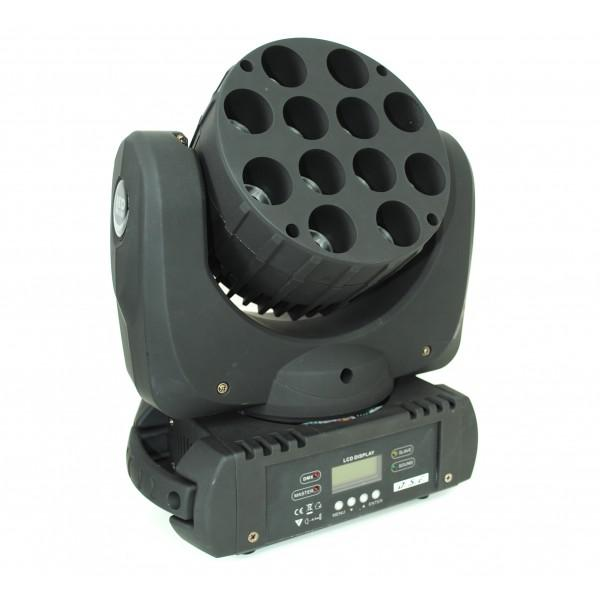 Led Beam MovingHead 12x10W - 28canale