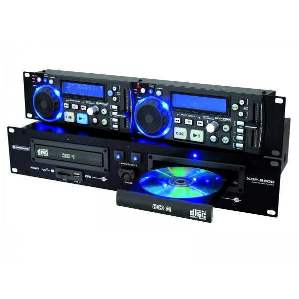 CD/MP3 Player Omnitronic XPD-2800 - CD/MP3 Player Omnitronic XPD-2800