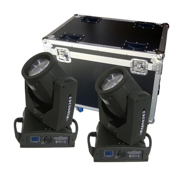 MovingHead Flash FL-202 + Case transport
