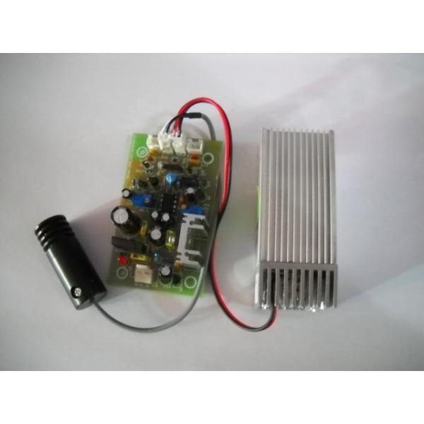 Dioda laser  rosu cu verde ,inclusiv placa electronica