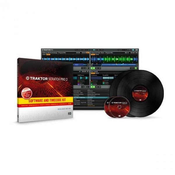 TRAKTOR SCRATCH PRO 2 LICENTA SOFTWARE & TIMECODE KIT