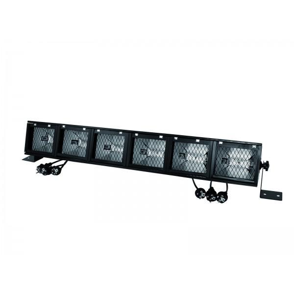 Lumina EUROLITE Fluter-Rampe 6 x R7s