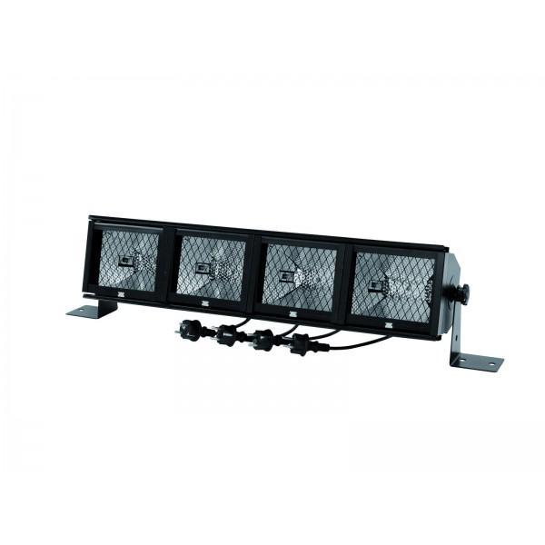 Lumina EUROLITE Fluter-Rampe 4 x R7s